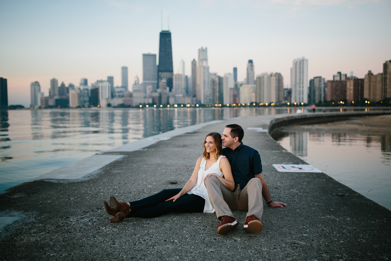 North Avenue Beach Engagement-5